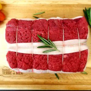 Rôti de bœuf bardé AAA Canadian